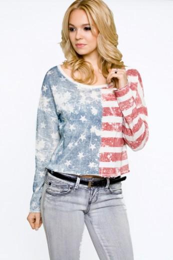 American Flag Top- $48