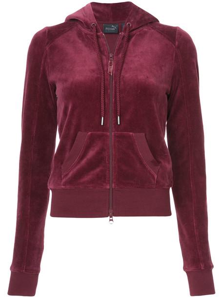 Fenty x Puma jacket women cotton red
