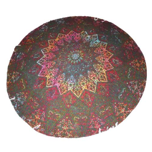 Gypsy Indian Boho Star Mandala Tassel Fringe Tapestry