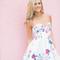 Lianna - floral skater dress