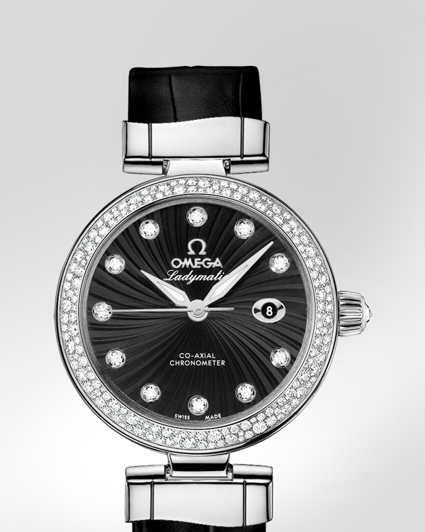 De Ville Ladymatic Omega Co-Axial 34 mm - ref. 425.38.34.20.51.001 via @omegawatches