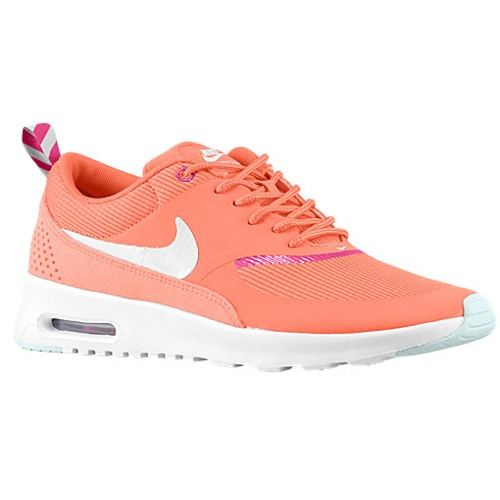 Nike Air Max Thea - Women's - Running - Shoes - Turf Orange/Bright Magenta/White/Sea Spray