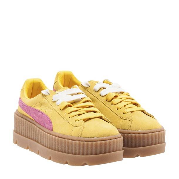 FENTY PUMA by Rihanna sneakers suede rose shoes