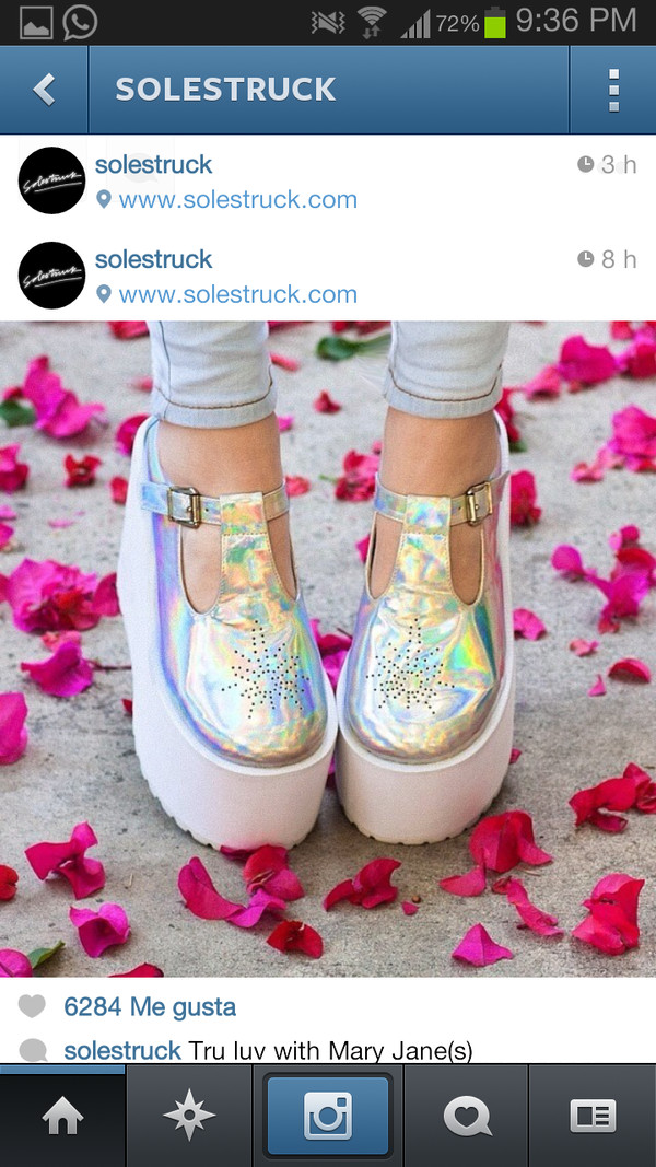 shoes holographic holographic shoes roses platform shoes