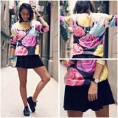 sweater,hoodie,color/pattern,grunge,fashion,black,diet,sweet,pastel,platform shoes