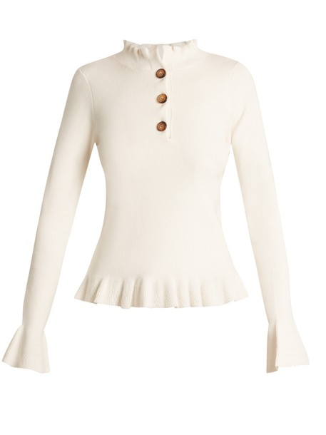 See by Chloe sweater ruffle cotton