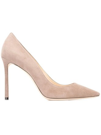 women 100 pumps leather grey shoes