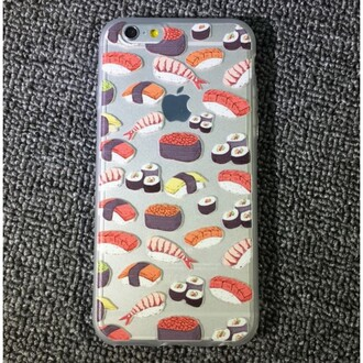 phone cover sushi fashion style trendy iphone case teenagers boogzel