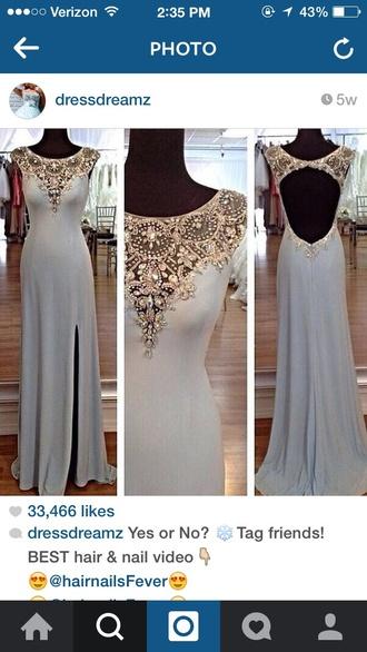 dress sleeves light blue dresses light blue prom dress prom dress embellished dress embroidered dress