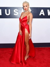 dress,red,red dress,slit dress,celebrity,celebrity style,red carpet,red carpet dress,rita ora,celebstyle for less,long dress,long evening dress,evening dress,long prom dress,prom,prom dress,red prom dress,formal,formal dress,formal event outfit,classy dress,elegant dress,birthday dress,graduation dress,wedding clothes,wedding guest,engagement party dress