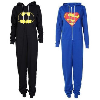 dress romper onesie batman superman pajamas