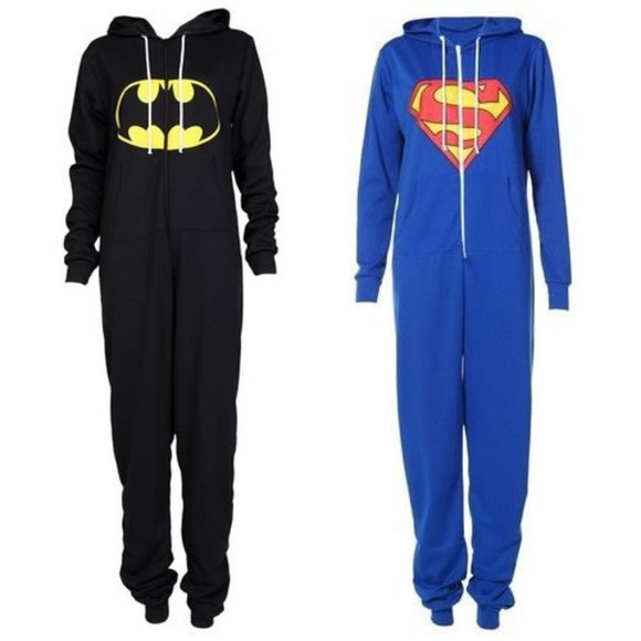 superman dress playsuit onesie batman