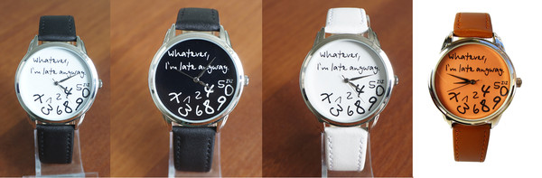jewels watch watch cool watch designer watch leather watch unusual watch whatever i'm late anyway
