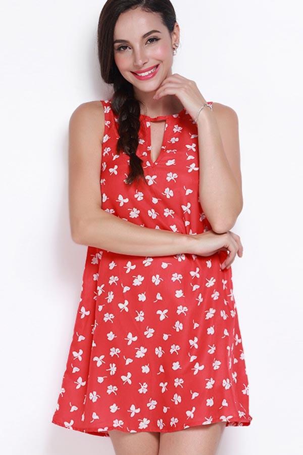 dress zipper back sexy dress cute dress red dress keyhole dress clover