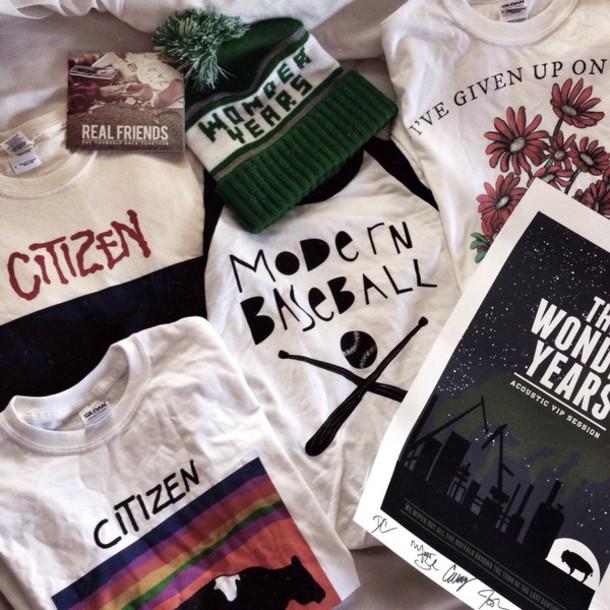 T-shirt: merch, grunge, hipster, alternative, pop punk ...