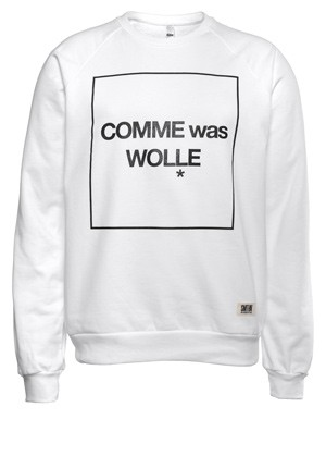 SMTHN COMME Sweatshirt White - Pullover & Strick   COUTIE