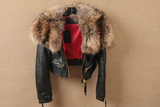 jacket black jacket leather jacket fur jacket