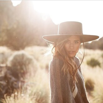 hat brixton buckley wool brixton nastygal structured ribbon