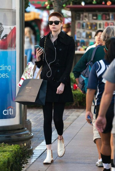 shoes white shoes karen gillan british