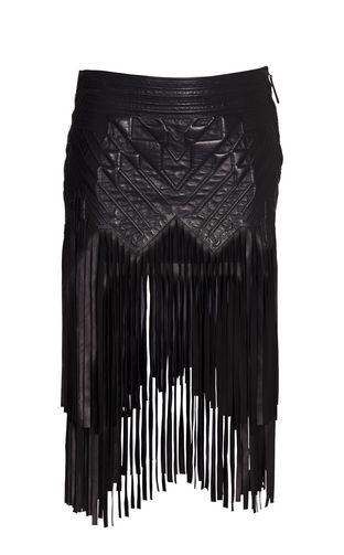 Leather skirt Women - Skirts Women on Roberto Cavalli Online Store