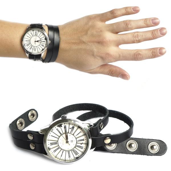 jewels watch watch vintage black ziziztime ziz watch black n white