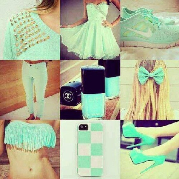 dress drees swimwear shoes jeans jewels nail polish nike free run vert d'eau