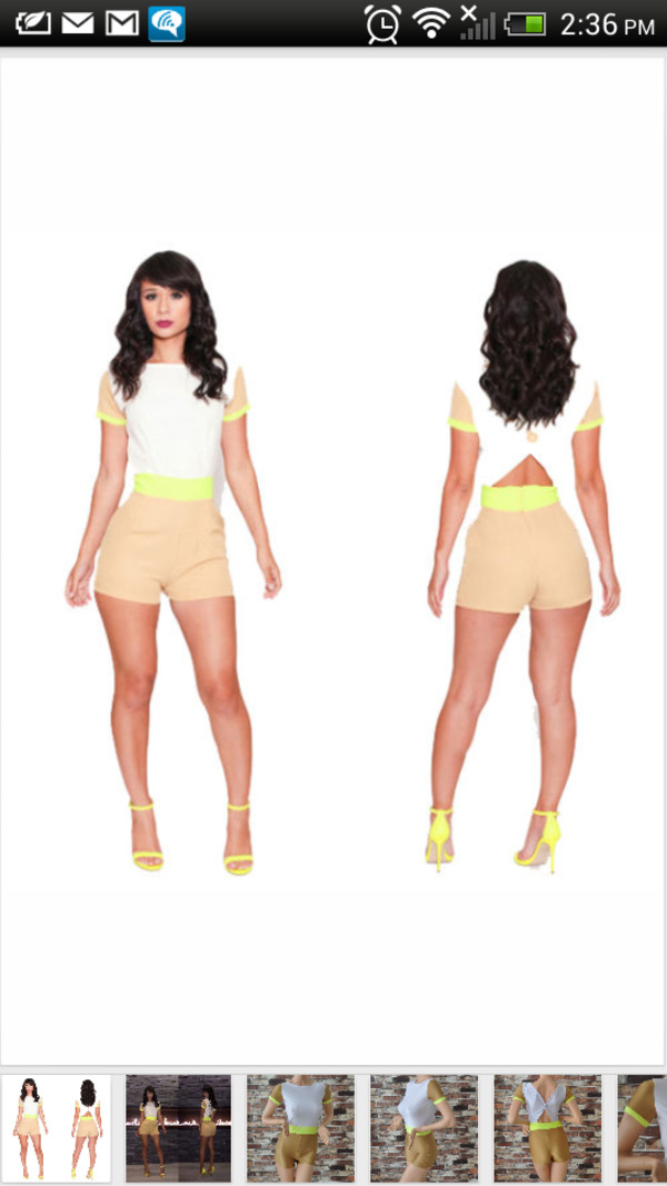 dress neon green dress jumpsuit romper neon cut-out summer outfits