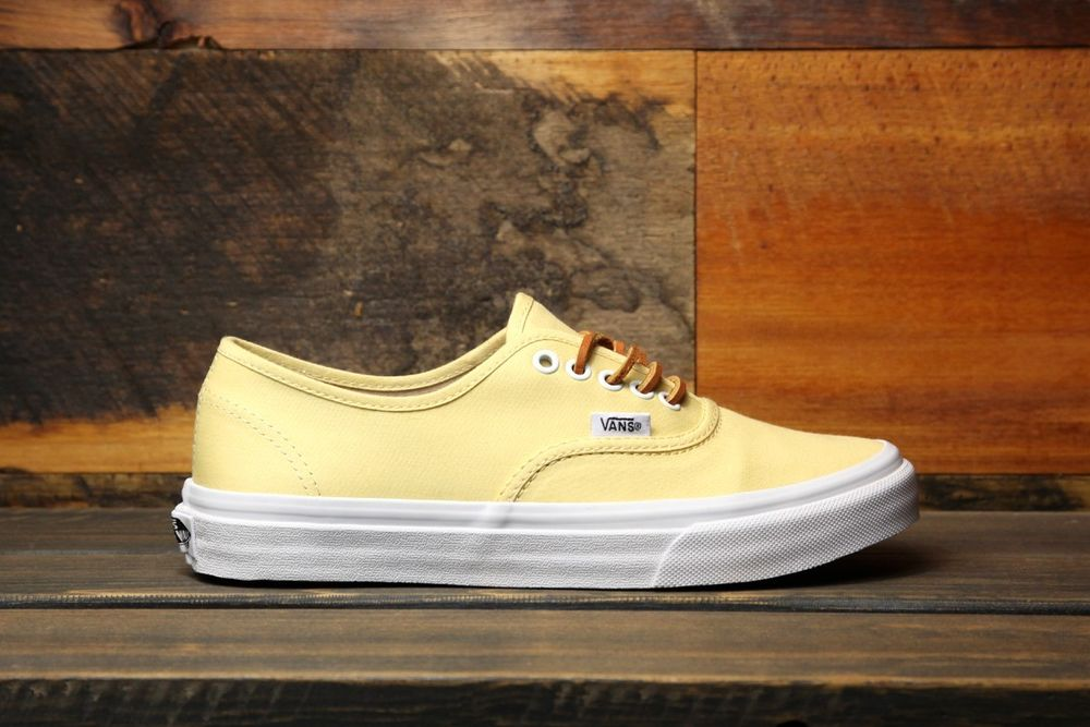 Vans AUTHENTIC (Brushed Twill) Sunlight Women s Skate Shoes ... 413b679cb