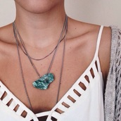shirt,tank top,white,sexy,elegant,girl,beautiful,summer,jewels,necklace,on point clothing,jewelry,quirky jewellery,ethnic jewellery,fashion jewellery,tumblr jewellery,boho jewelry,hipster jewelry,turquoise jewelry,hippie jewelry,fashion jewelry,hippie,boho,bohemian,indie,crystal quartz,quartz,stone necklaces,stone necklace,stone,turquoise,style,summer outfits,festival,bralette,cutout top,cut-out,tumblr,tumblr outfit,women,fashionista,cute,underwear,white tank top,cut out top,cut out tank top,top,white shirt,blouse