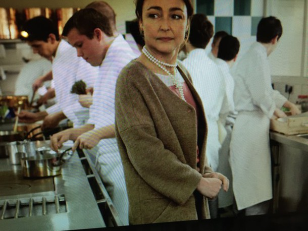 coat catherine frot's coat in les saveurs du palais