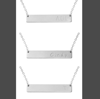 jewels silver silver necklace silver jewelry jewelry jewelry necklace jewelry necklaces necklace necklace. bar necklace custom name necklace nameplate nameplate necklace name neckace initial necklace initial jewelry initialise initial necklaces initial name necklace initials letter letter necklace personalised personalized personalized jewelry personal jewelry personalized pendent personalized initial personalized necklace pendant pendant jewelry 925 sterling silver sterling silver sterling silver necklace 925 silver .925 silver pendant