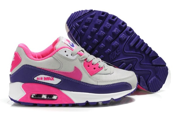 shoes nike air max 90 pink purple