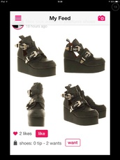 a548165c496 pastel goth platform boots. most recent  most popular  new unanswered.  filter. shoes