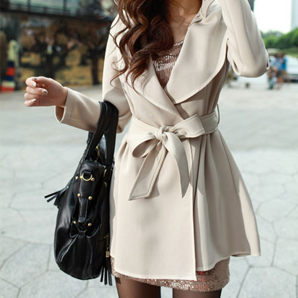 coat fashion jacket winter coat white coat dress coat grey coat cream trench coat cute cream now trench coat winter outfits belt warm cozy fashionista cream nude ivory trench coat windbreaker hooded winter coat pleated hem line pretty beige trench coat trench coat dress trench coat for women