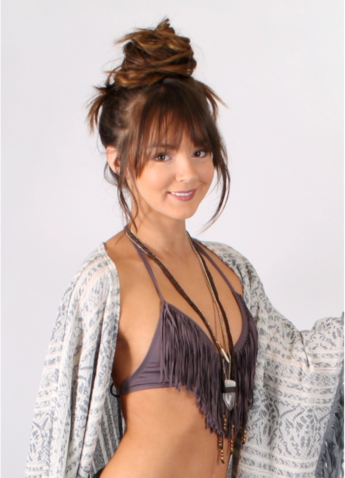 Shop audrey fringe halter by l space (#fr56t14) on diane's beachwear