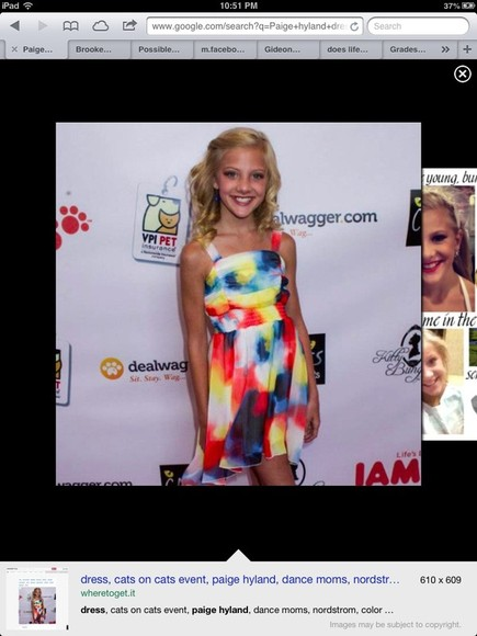 dress paige hyland pretty