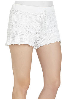 BCBGeneration Crochet Shorts  - Belk.com