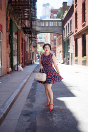 noelles favorite things,blogger,dress,bag
