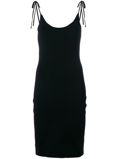 T by Alexander Wang dress women spandex black