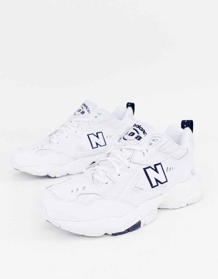 New Balance 608 trainers in white MX608WT