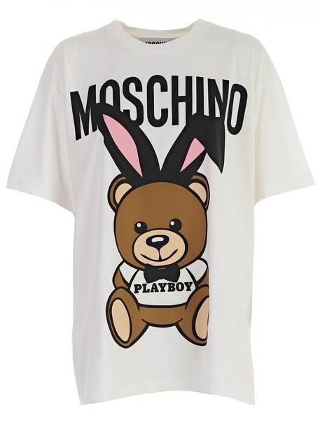 Moschino t-shirt shirt t-shirt short white top