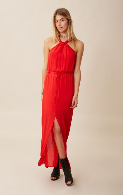 RORY BECA FULA KNOT W/ FRONT SLIT GOWN