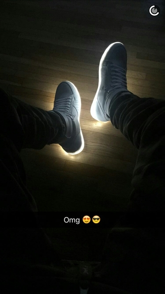 shoes glow in the dark