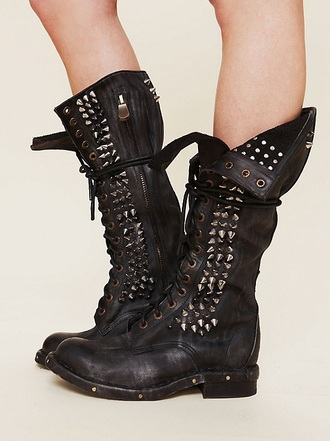 shoes seattle studded tall boots jeffrey campbell boots studded shoes