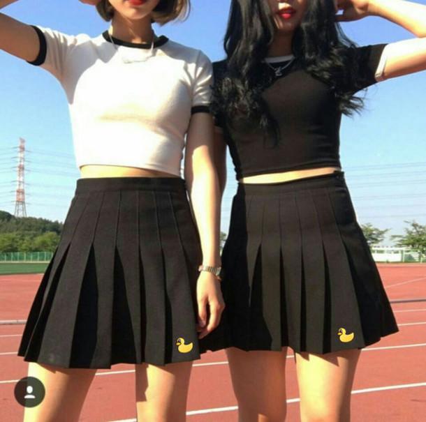 Skirt Lilac Tennis Pleated Skirt Mini Skirt Mini