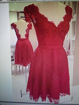 dress prom dress red dress robe dentelle little dress the world looks red