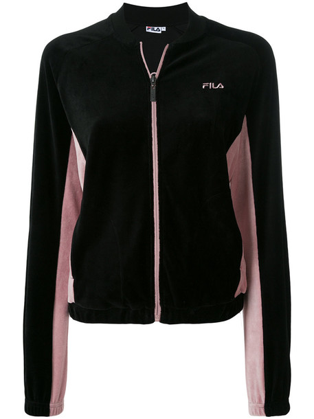 fila sweatshirt zip women cotton sweater