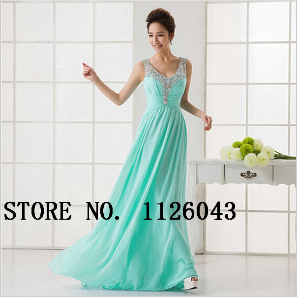 Aliexpress.com : Buy Long Evening Dress 2014 Sequined Draped Floor Length Long Party Dress from Reliable Party Dresses suppliers on Simple Fashion Co.,Ltd