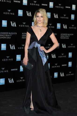 dress gown dianna agron red carpet dress sandals shoes