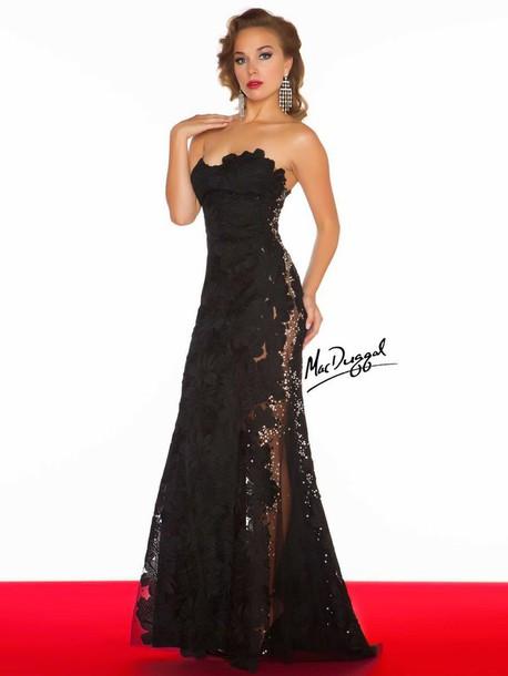 dress clothes long lace prom dress prom dress prom dress lace black black lace